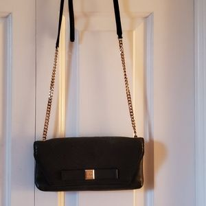 Black Snakeskin Kate Spade Crossbody Handbag
